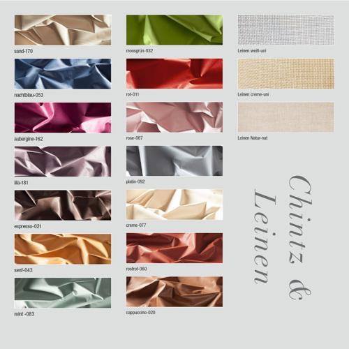 Chintz / Leinen Farben